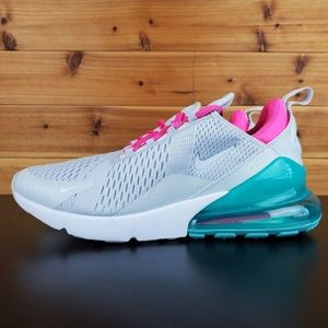 Nike Air Max 270 Grey Pink White South Beach